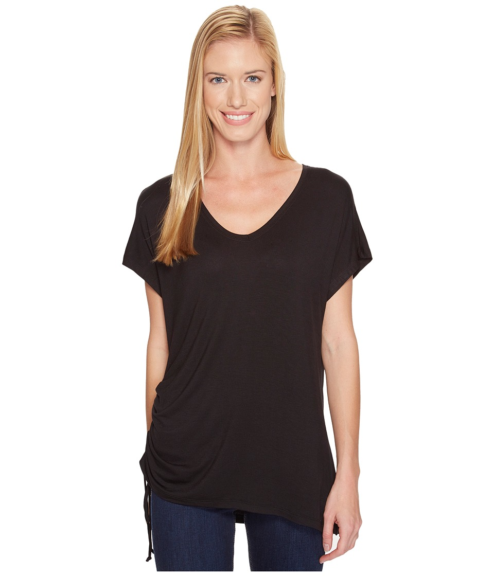 FIG Clothing - Say Lt Top (Deep Black) Women's Clothing