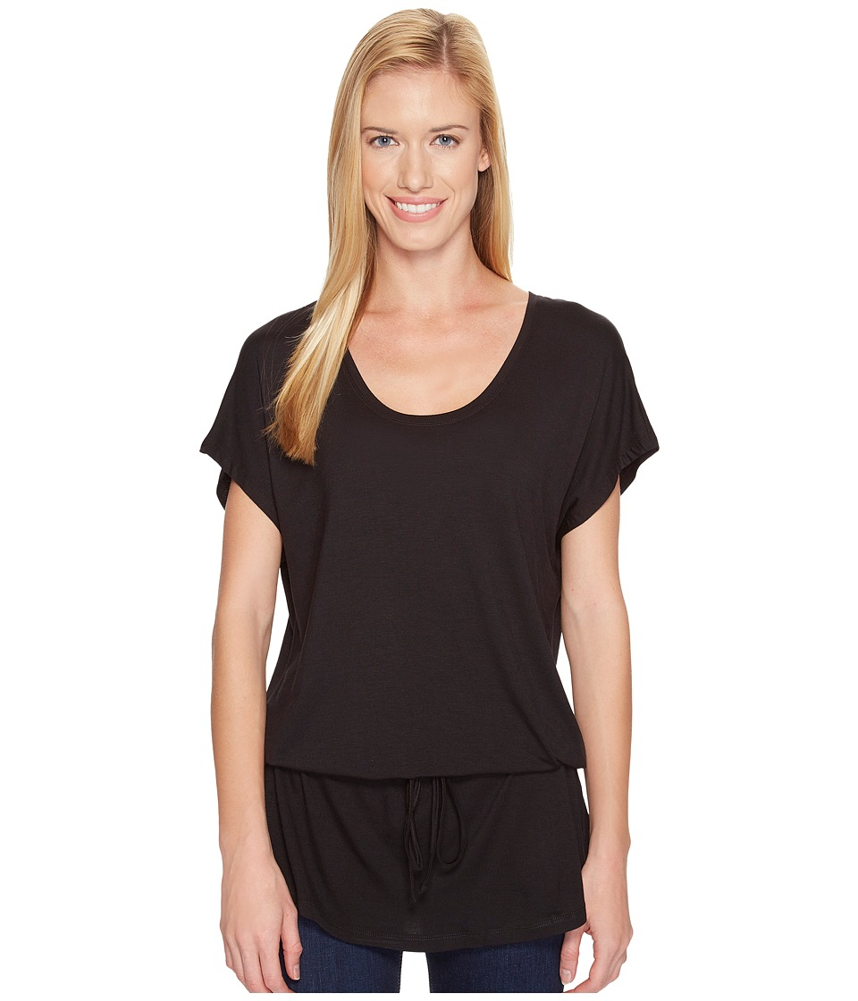 FIG Clothing - Cip Lt Top (Deep Black) Women's Clothing