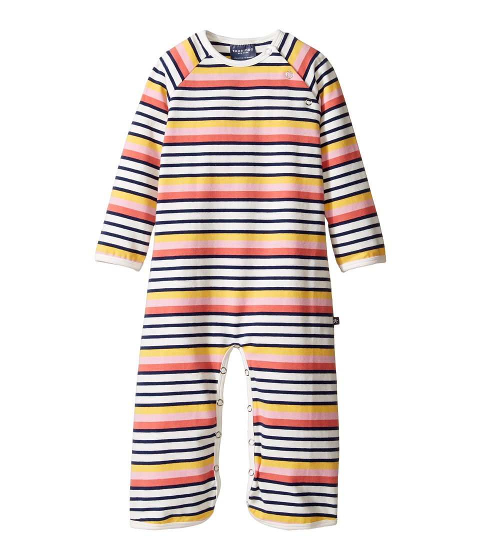 Toobydoo - Matteo Bootcut Jumpsuit (Infant) (Pink/Navy/White/Red/Yellow) Girl's Jumpsuit & Rompers One Piece