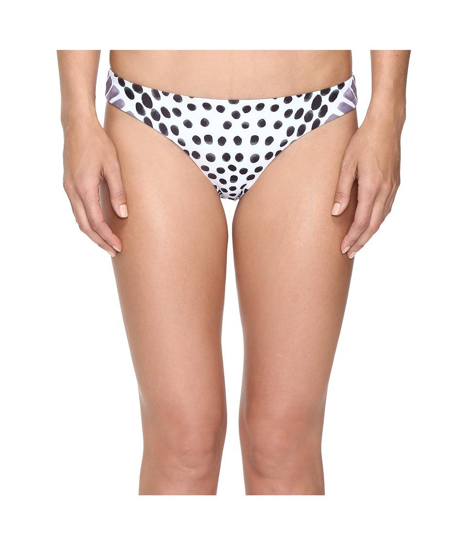 Mara Hoffman - Samba Low Rise Bottom (White/Plum) Women's Swimwear