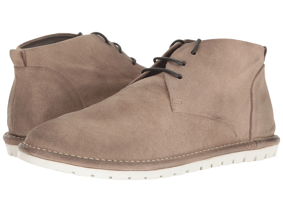 Marsell Gomma Suede Lace-Up Boot (Grey) Men
