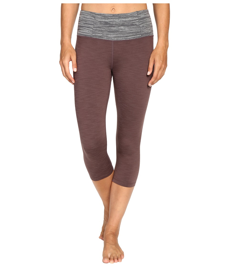 Manduka - Essential Capris (Raisin) Women's Capri