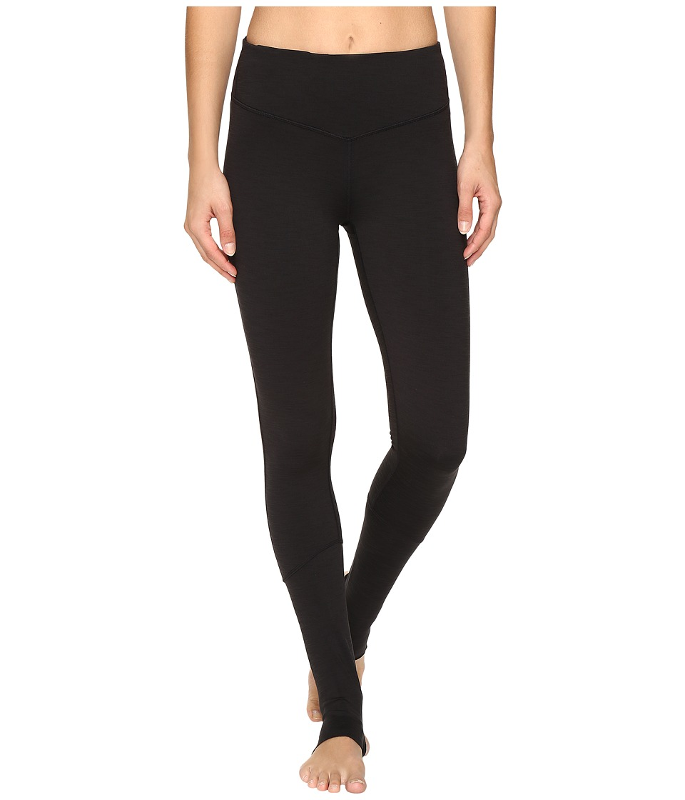 Manduka - Root Rise Leggings (Black) Women's Workout