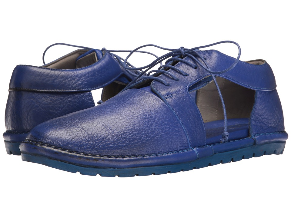 Marsell - Side Cut Out Oxford (Blue) Women's Shoes