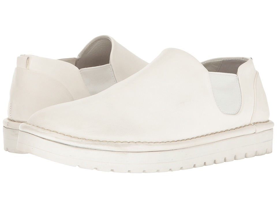 Marsell - Low Chelsea Boot (White) Women's Boots
