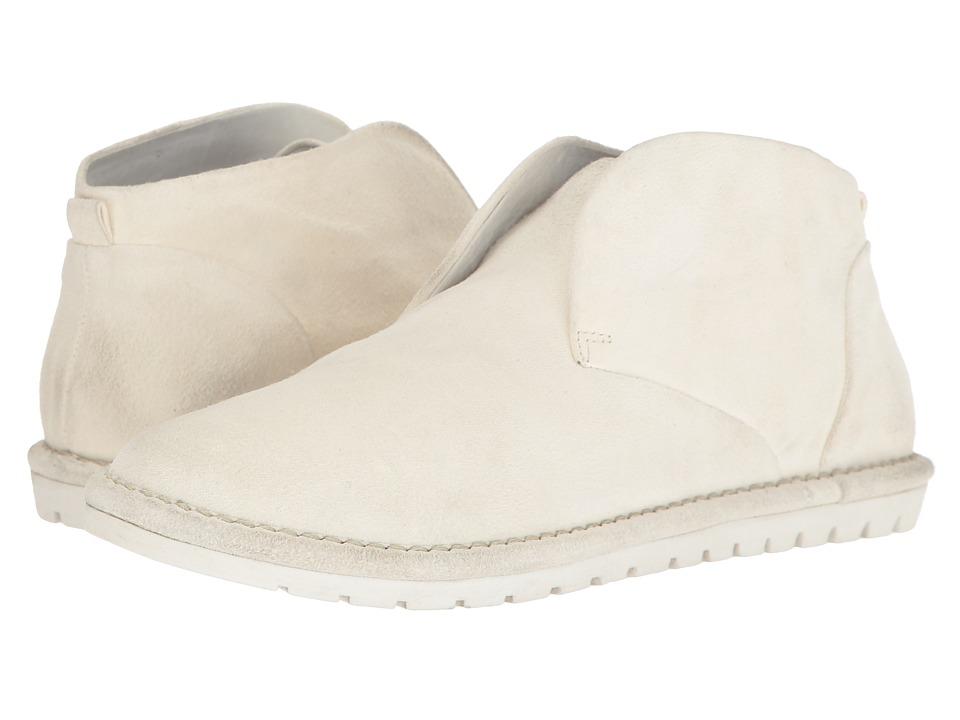 Marsell Pull-On Desert Boot (White) Women