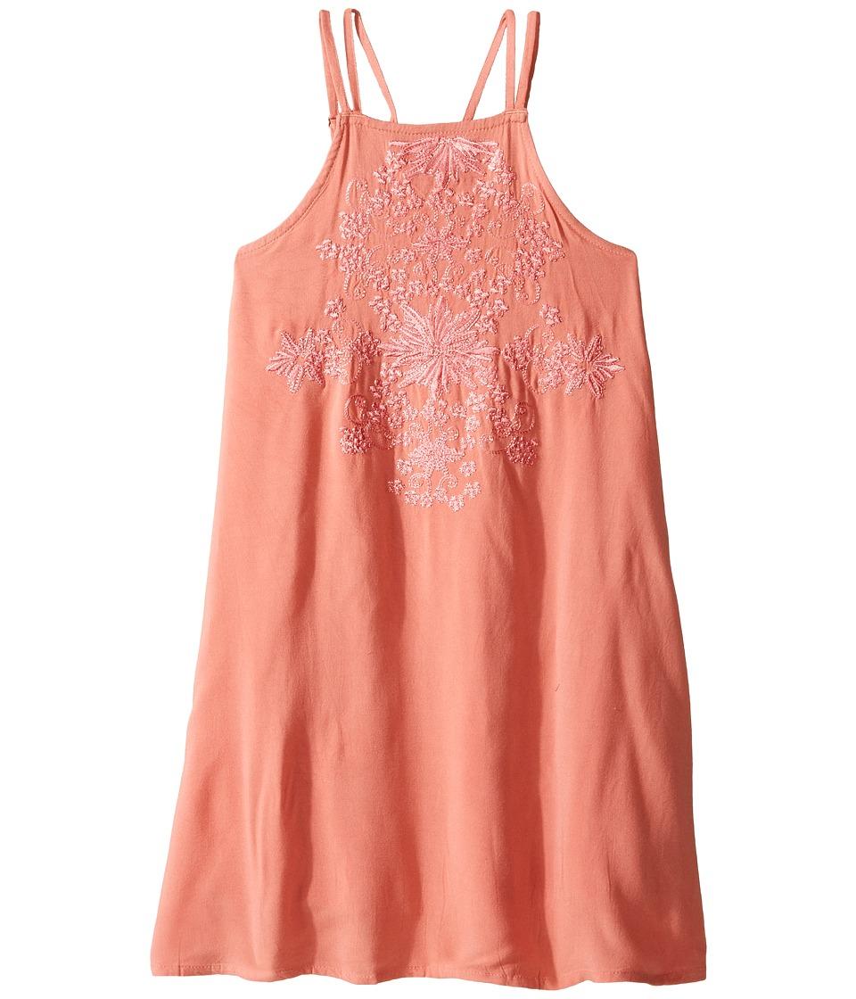O'Neill Kids - Lolita Woven Dress (Big Kids) (Rose Pink) Girl's Dress