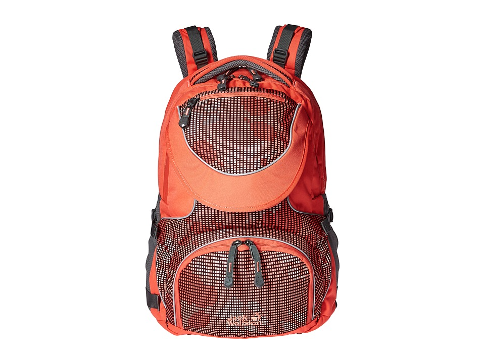Jack Wolfskin - Ramson 26 Liter Pack (Kids) (Coral Paw) Backpack Bags