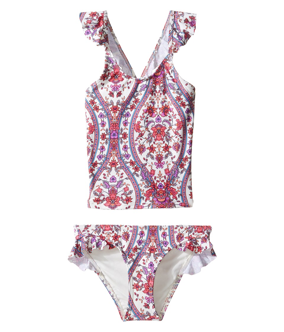 O'Neill Kids - Sophia Tankini (Toddler/Little Kids) (Vanilla) Girl's Swimwear