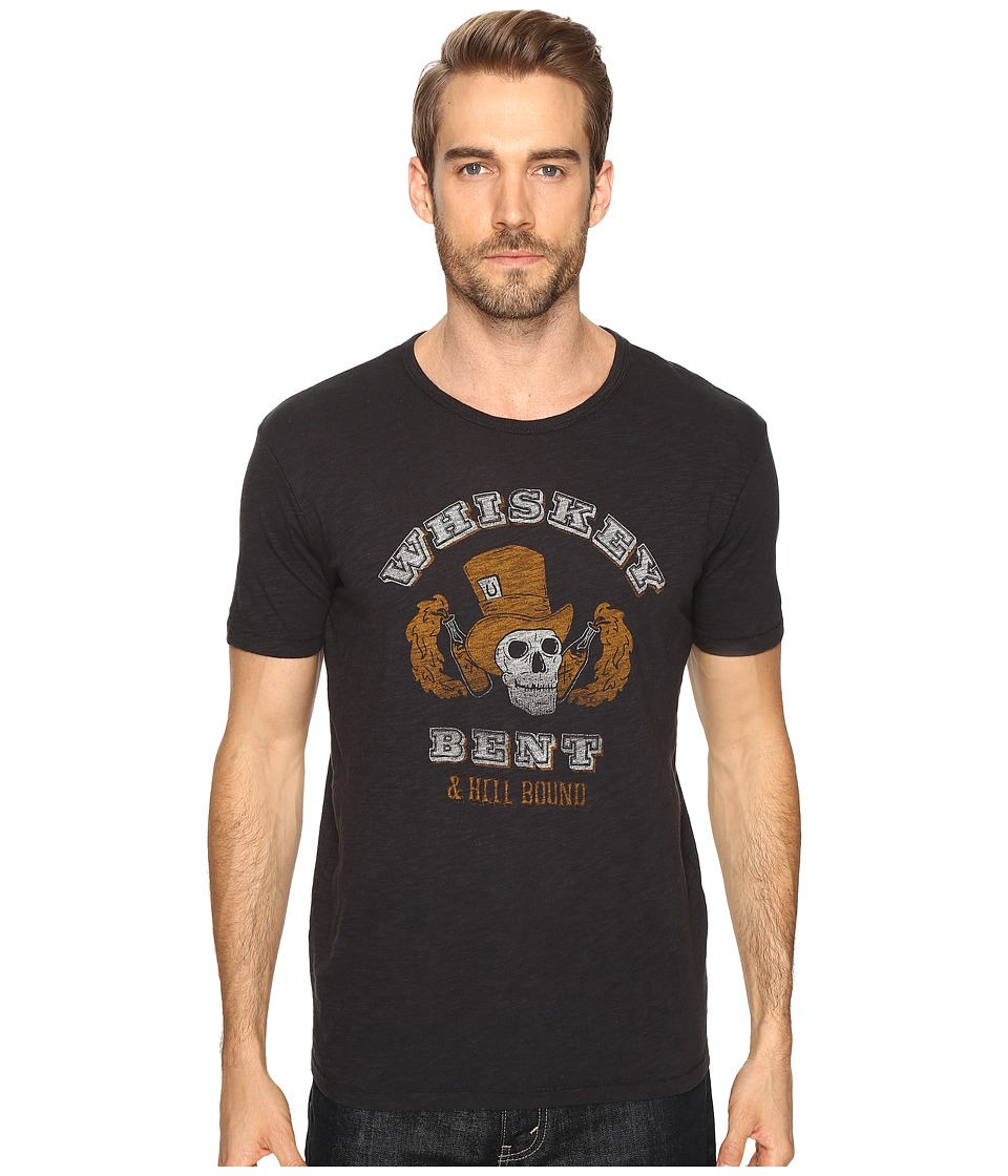 Lucky Brand - Whiskey Bent Graphic Tee (Jet Black) Men's T Shirt