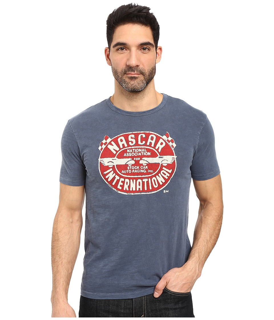 Lucky Brand - Nascar International Graphic Tee (American Navy) Men's T Shirt