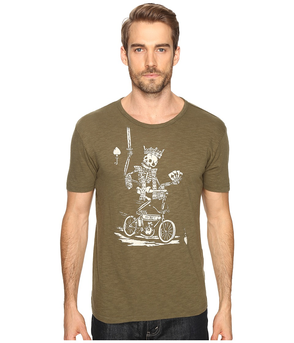Lucky Brand - El Rey Graphic Tee (Ivy Green) Men's T Shirt