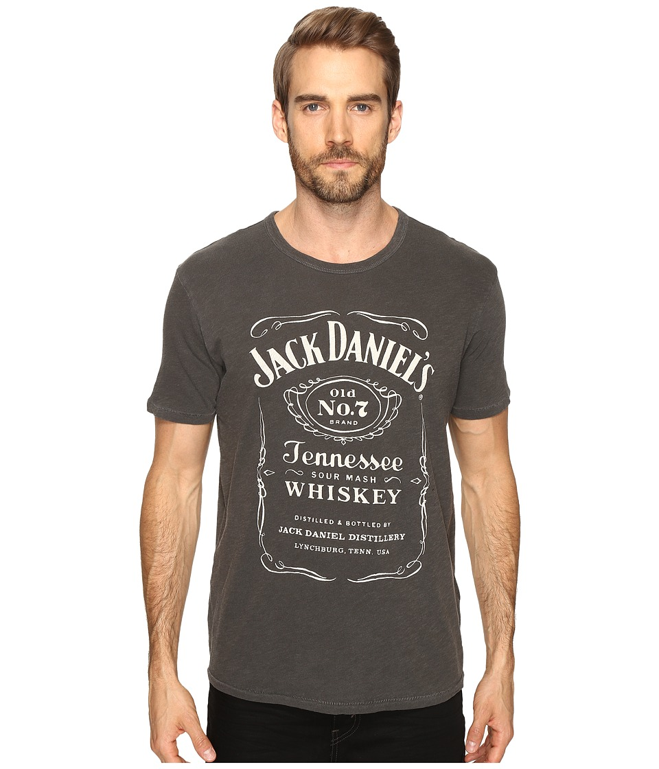 Lucky Brand - Jack Daniels Graphic Tee (Black Mountain) Men's T Shirt