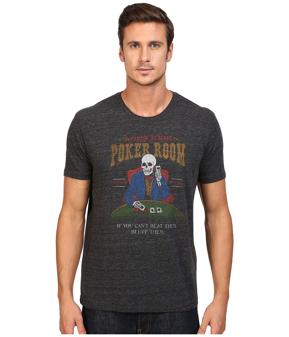 Lucky Brand - Poker Room Graphic Tee (Onyx) Men's T Shirt