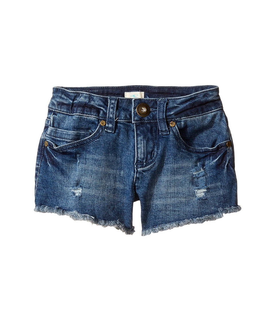 O'Neill Kids - Compass Shorts (Toddler/Little Kids) (Mystic Wash) Girl's Shorts