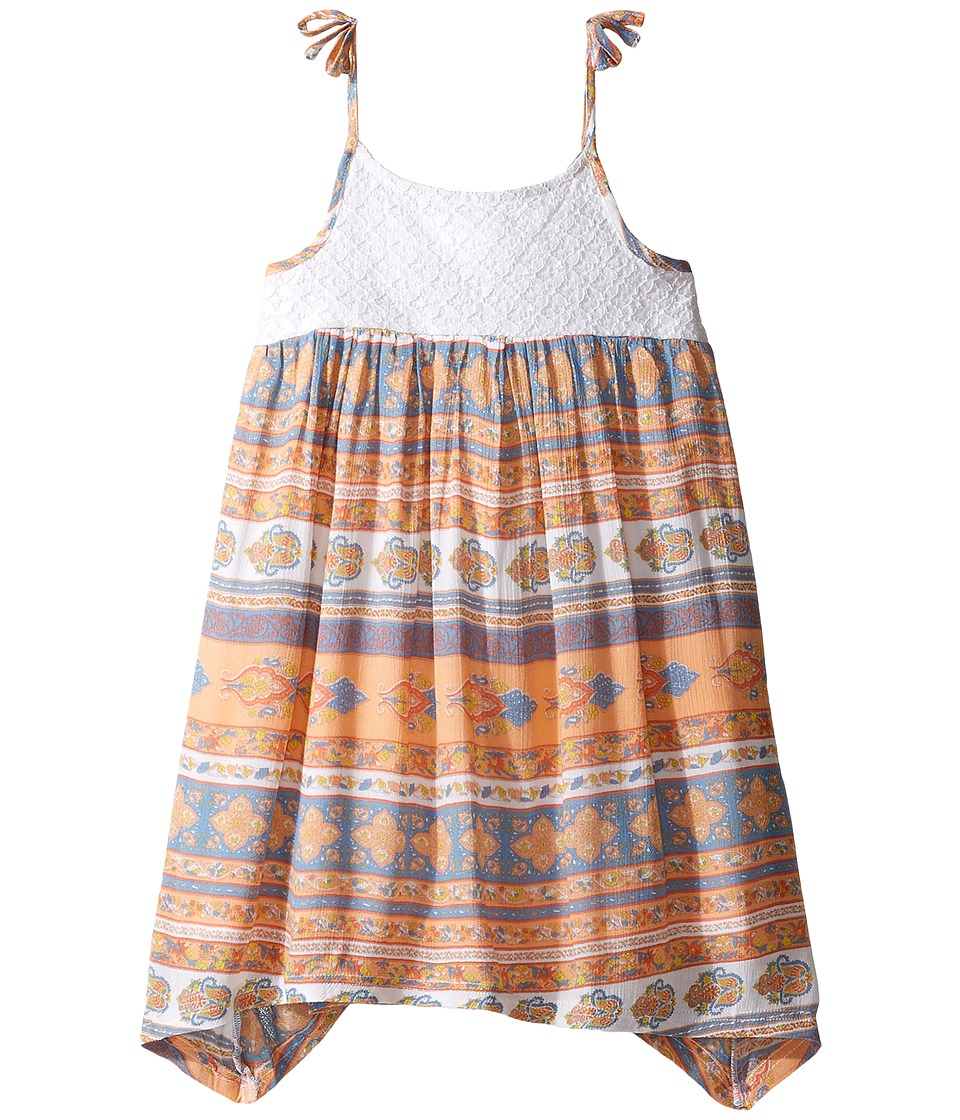 O'Neill Kids - Honey Woven Tank Dress (Toddler/Little Kids) (Passion Fruit) Girl's Dress