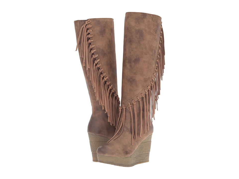 Sbicca - Griffin (Tan) Women's Boots