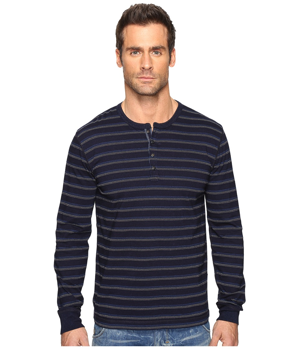 Lucky Brand Pacifica Henley (Indigo) Men