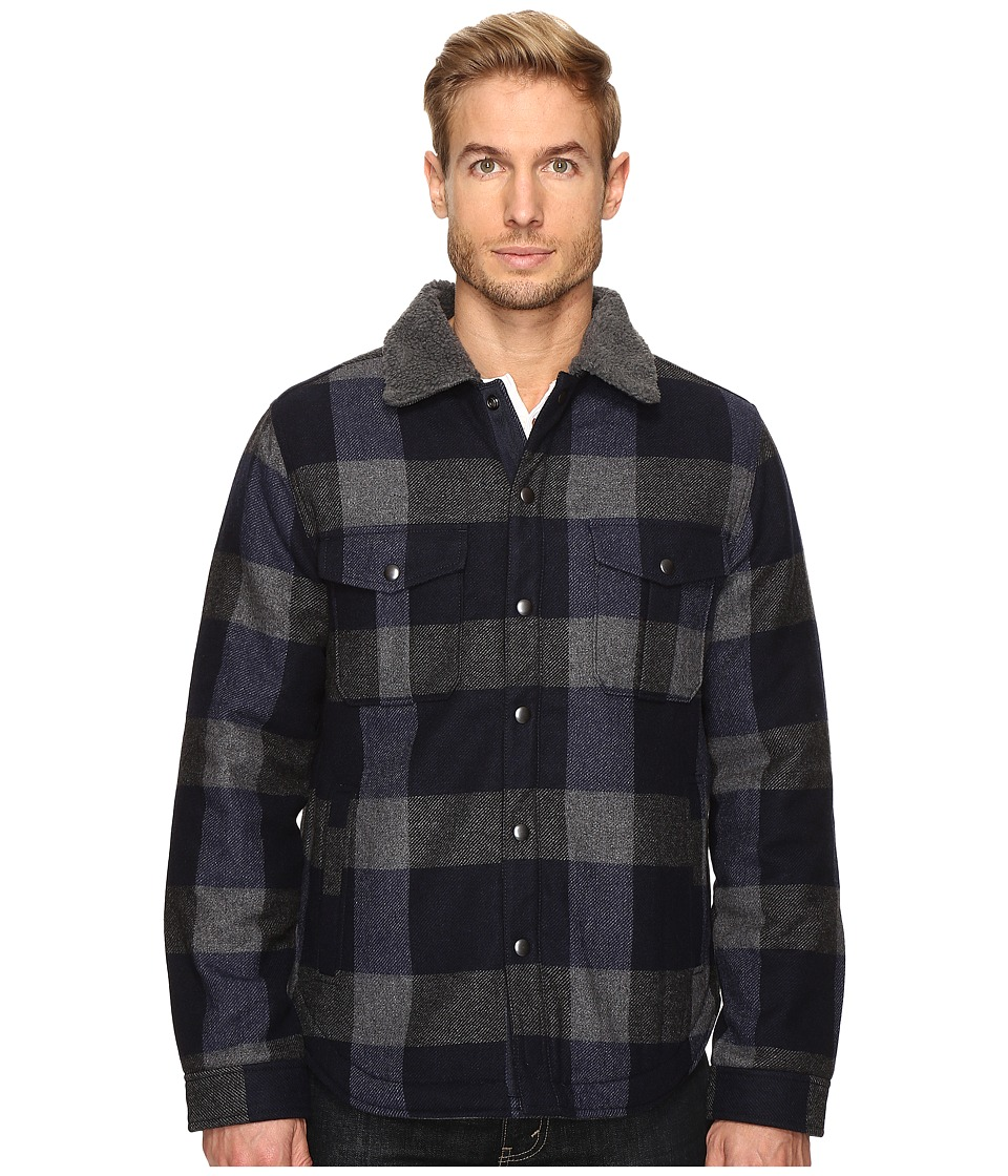 Lucky Brand - Sherpa Lined Buffalo Jacket (Multi) Men's Coat