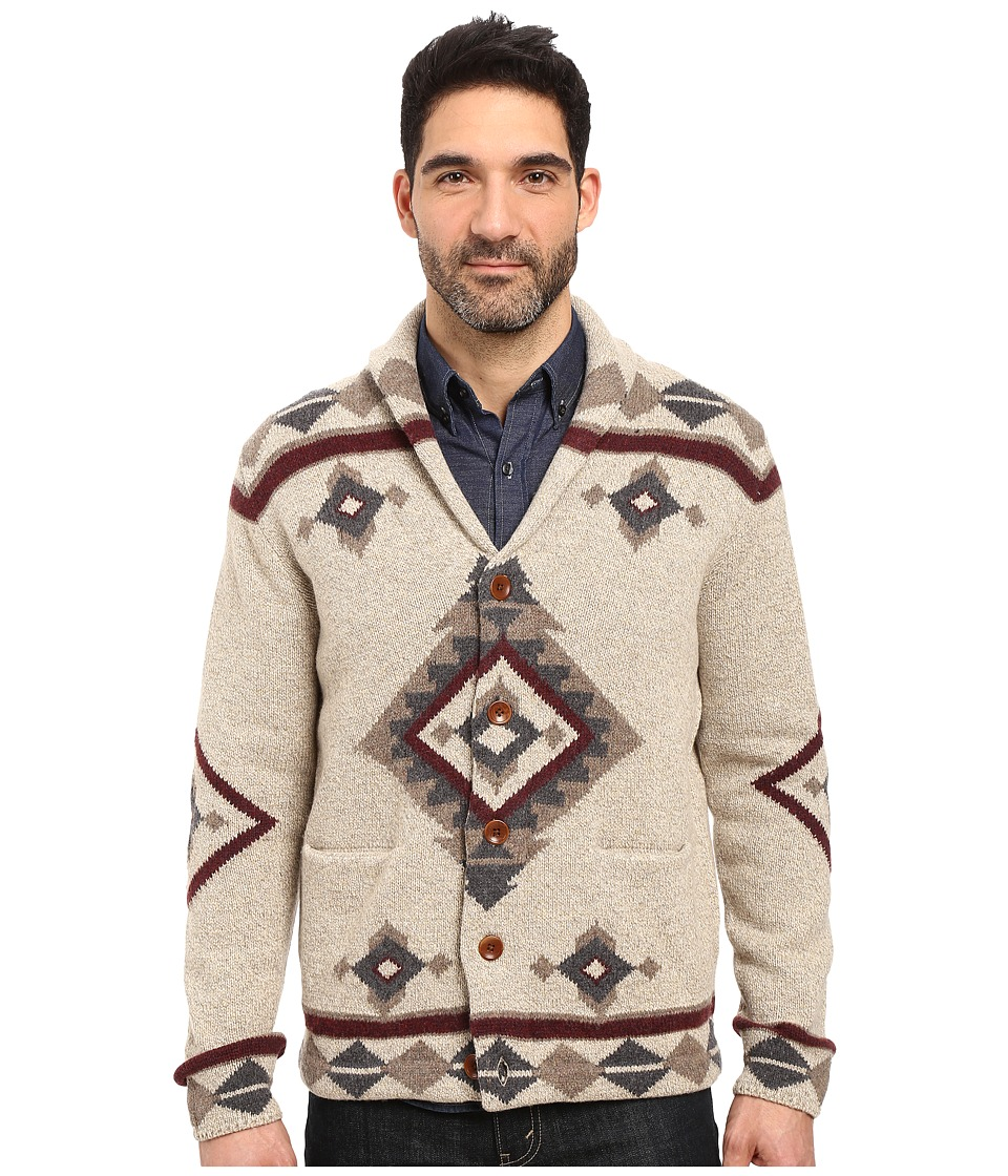 Lucky Brand - Fireside Shawl Cardigan Sweater (Multi) Men's Sweater