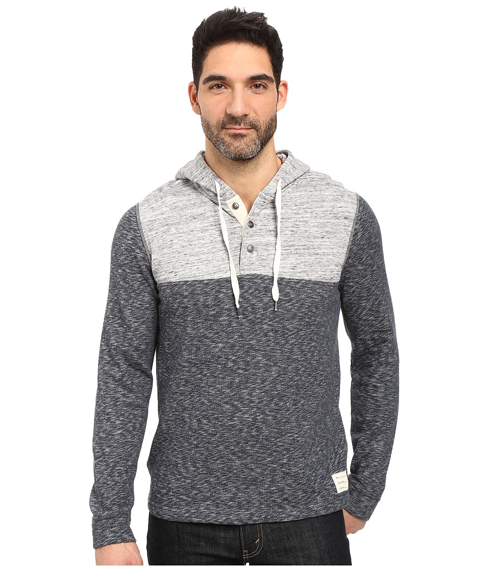 Lucky Brand - Huntington Hoodley Sweatshirt (Navy Multi) Men's Sweatshirt