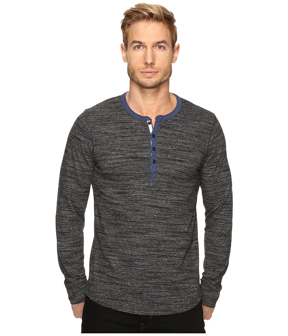 Lucky Brand - Highland Henley (Charcoal) Men's Clothing