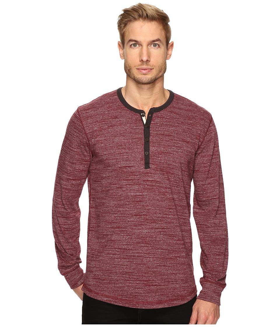 Lucky Brand - Highland Henley (Port Royale) Men's Clothing