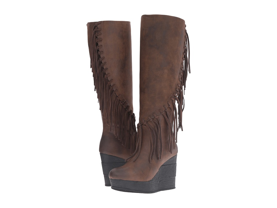 Sbicca - Griffin (Brown) Women's Boots