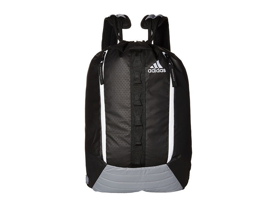 adidas - Skyline Sackpack (Black/Grey/White) Bags
