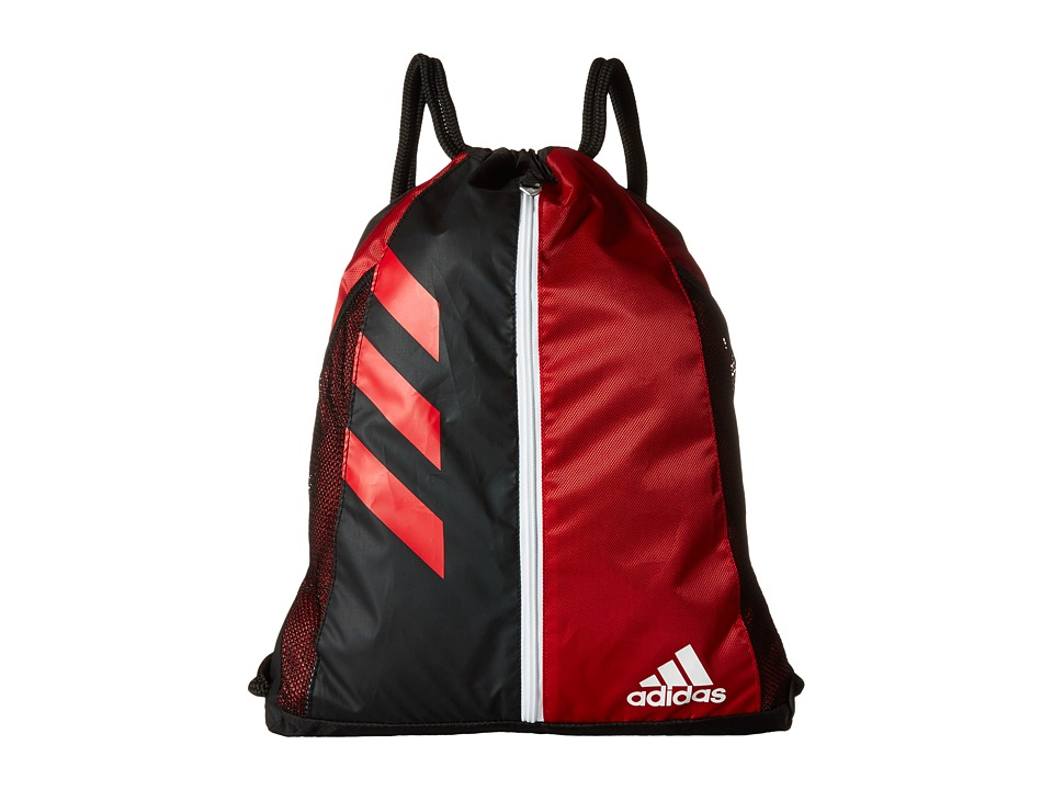 adidas - Team Issue Sackpack (Power Red/Black) Bags