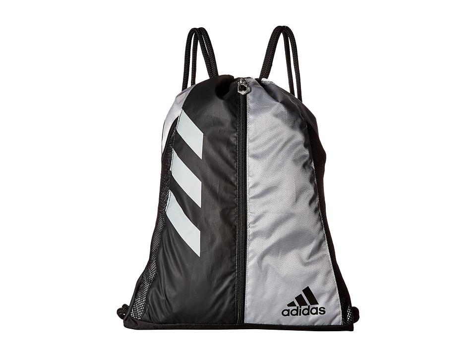 adidas - Team Issue Sackpack (Platnium/Black/White) Bags