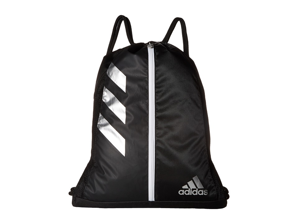 adidas - Team Issue Sackpack (Black/Silver) Bags