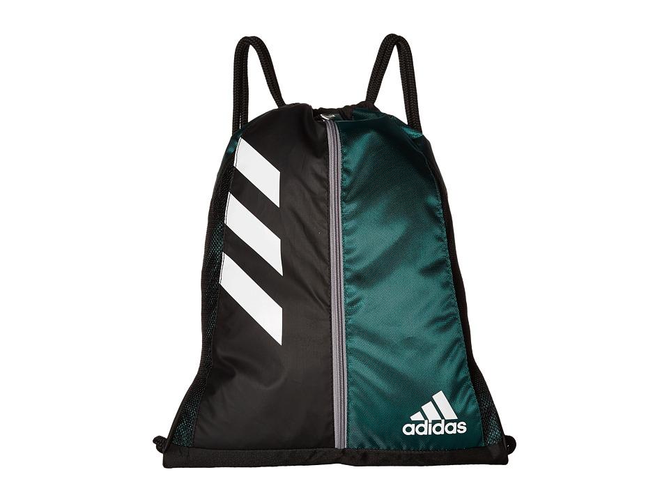 adidas - Team Issue Sackpack (Dark Green/Black) Bags