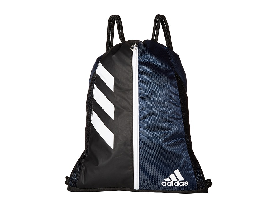 adidas - Team Issue Sackpack (Collegiate Navy/Black/White) Bags
