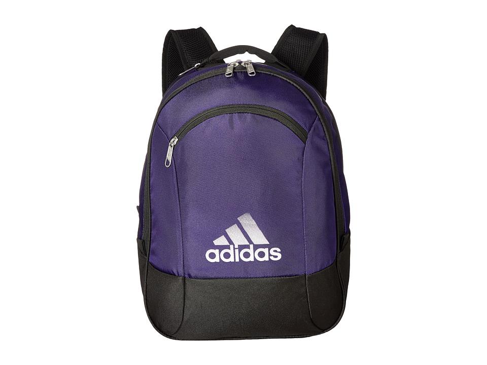 adidas - Striker Team Backpack (Collegiate Purple) Backpack Bags
