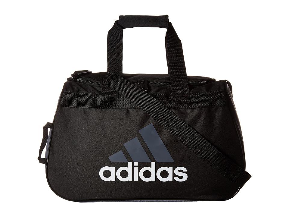 adidas - Diablo Small Duffel (Black/Storm Grey) Duffel Bags