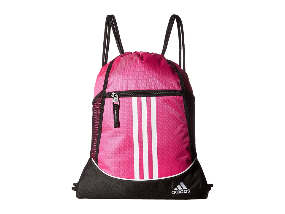 adidas - Alliance II Sackpack (Shock Pink) Bags