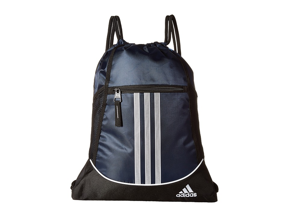 adidas - Alliance II Sackpack (Collegiate Navy) Bags