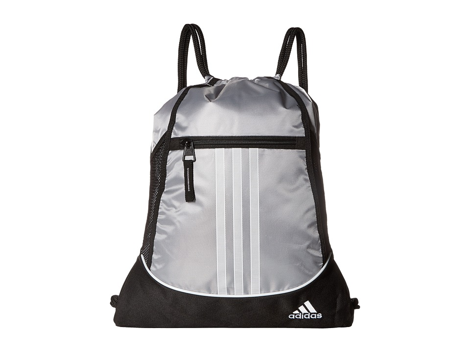 adidas - Alliance II Sackpack (Platinum) Bags