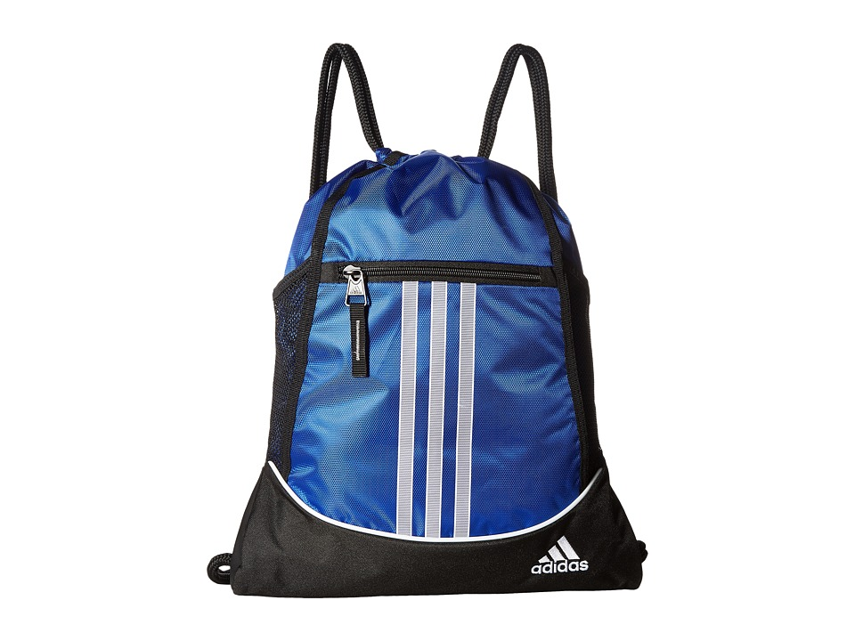 adidas - Alliance II Sackpack (Bold Blue) Bags