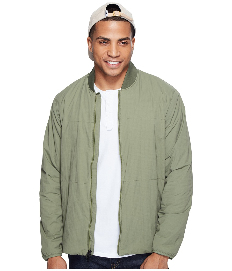 Levi's(r) Mens - Packable Bomber - Commuter (Deep Lichen Green) Men's Coat