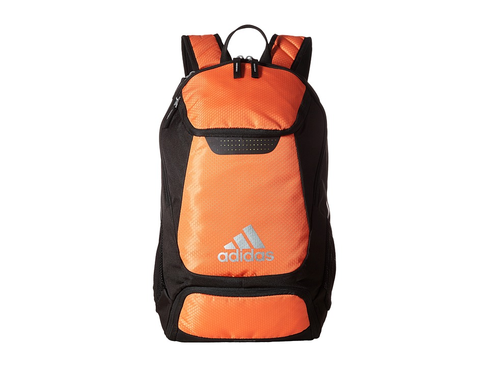 adidas - Stadium Team Backpack (Orange) Backpack Bags