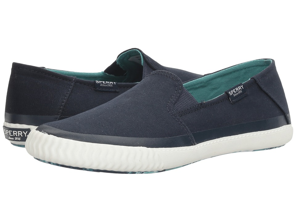 Sperry - Sayel Dive (Navy) Women's Slip on Shoes