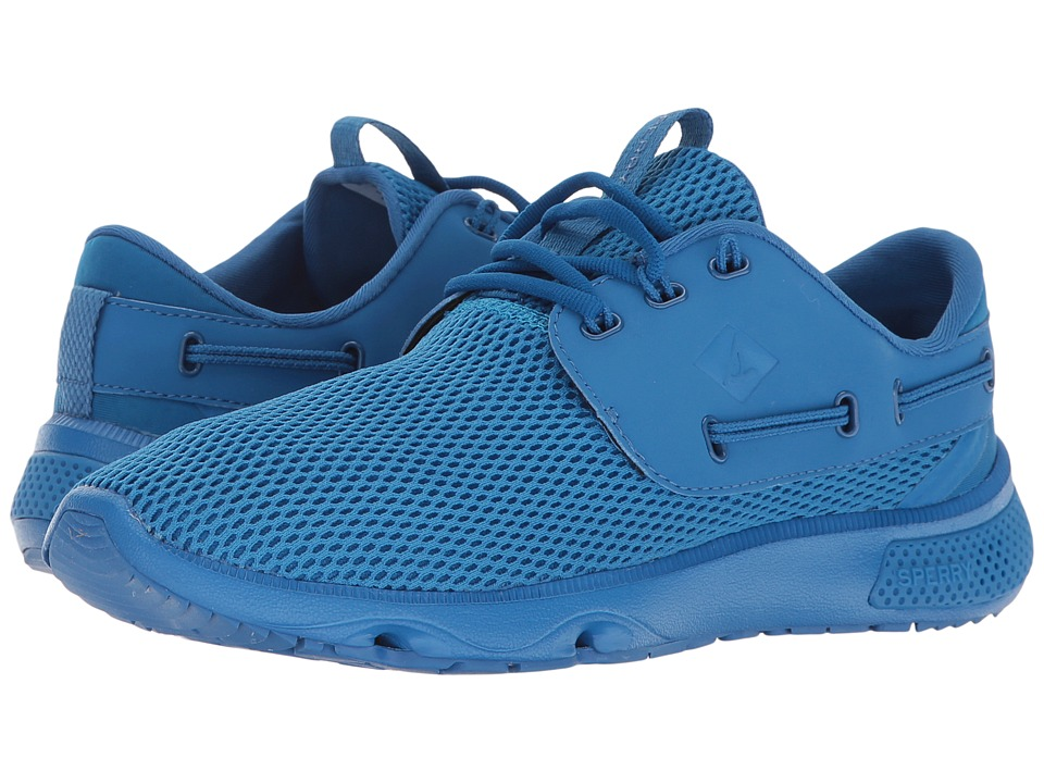 Sperry - 7 Seas 3-Eye Flooded (Bright Cobalt) Women's Lace up casual Shoes