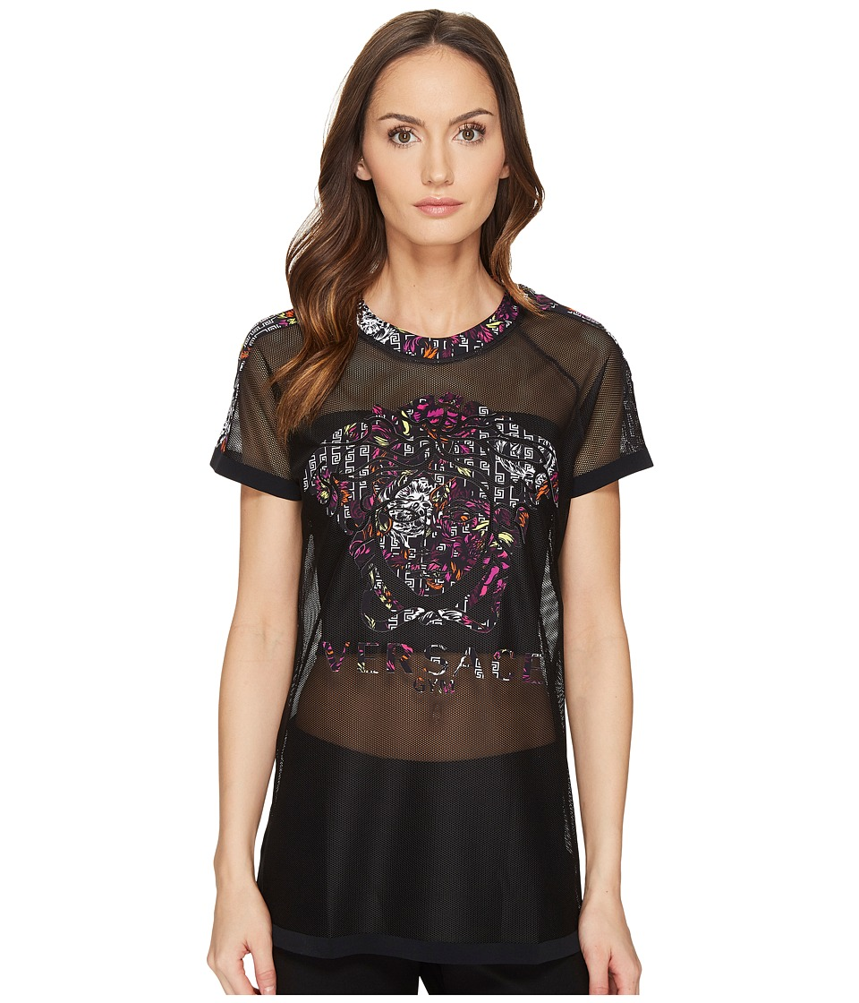 Versace - T-Shirts Intimo T-Shirt Mare Caftan Girocollo (Nero) Women's T Shirt