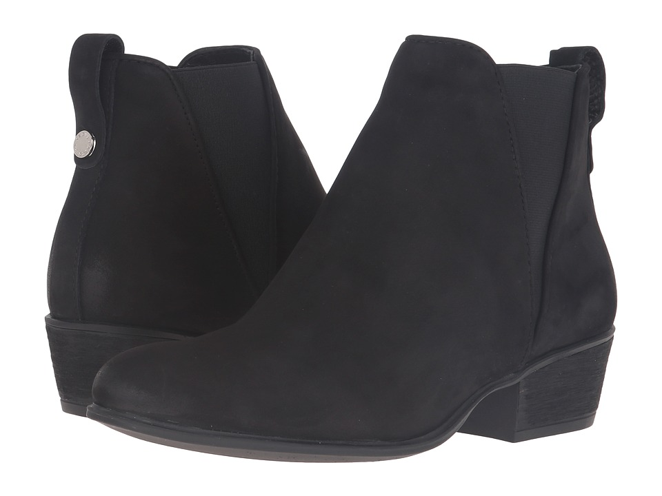 Steve Madden - Neoma (Black Leather) Women