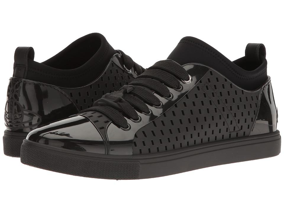 Vivienne Westwood - Plastic Orb Enamelled Sneaker (Black) Men's Shoes