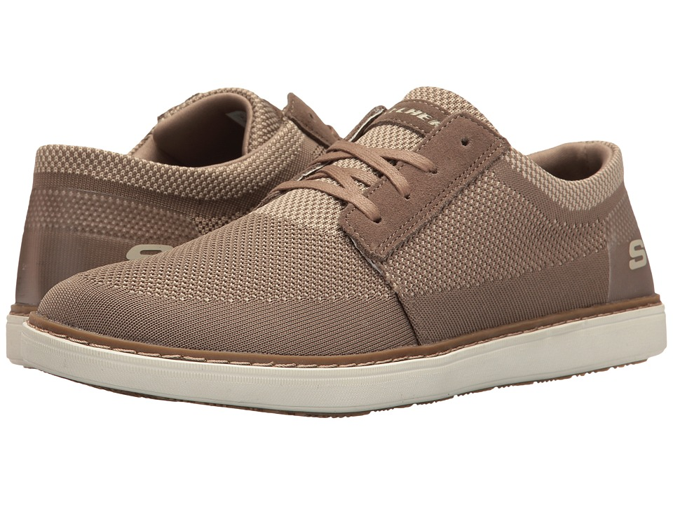 SKECHERS - Classic Fit Selos - Vanorio (Tan Knitted Mesh) Men's Shoes