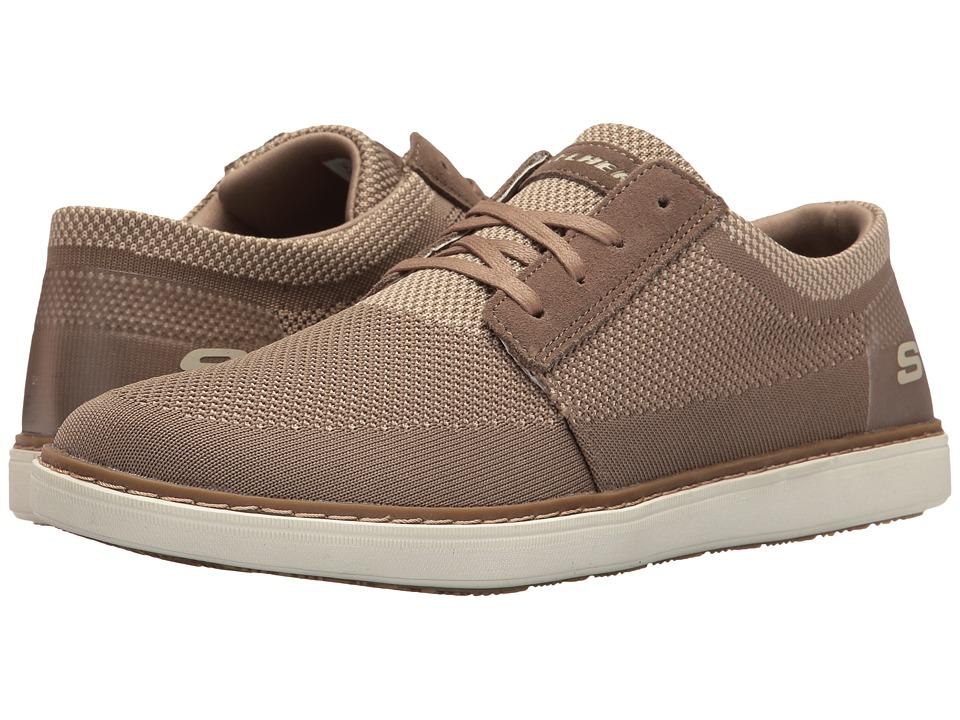 SKECHERS - Classic Fit Selos - Vanorio (Tan Knitted Mesh) Men's Shoes