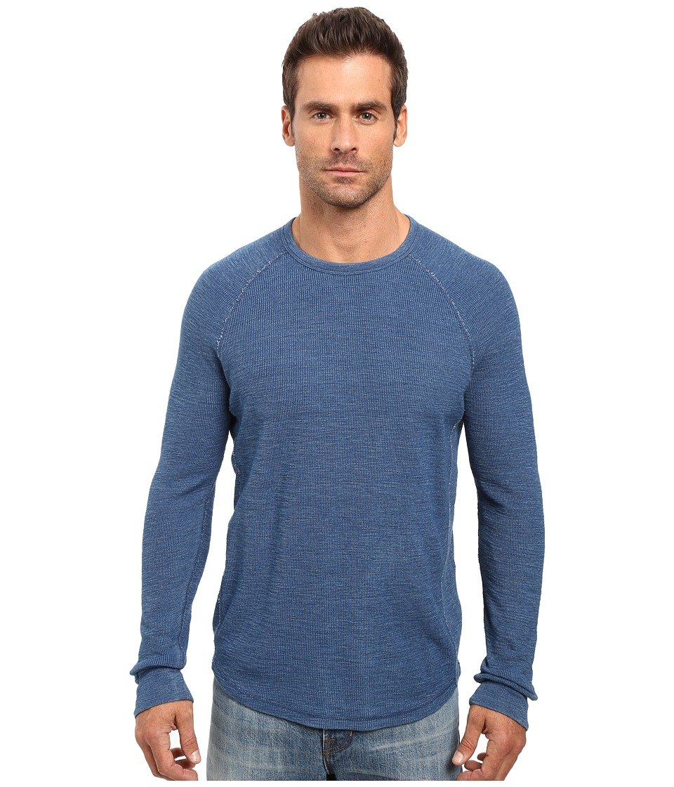Lucky Brand - Thermal Crew (Indigo) Men's Clothing